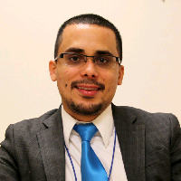 This is Dr. Kalim Alcover-Pabon's avatar and link to their profile