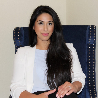 This is Negin  Didehbani 's avatar and link to their profile