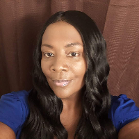 This is Dr. Melissa Garrett-Moultrie's avatar and link to their profile