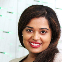 This is Dr. Anushree Belur's avatar and link to their profile