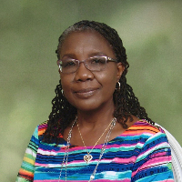 This is Edna Sanders-Mensah's avatar and link to their profile